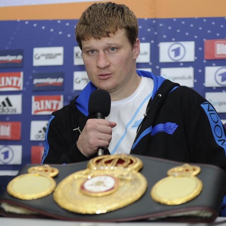 Александр Поветкин выйдет на ринг через месяц