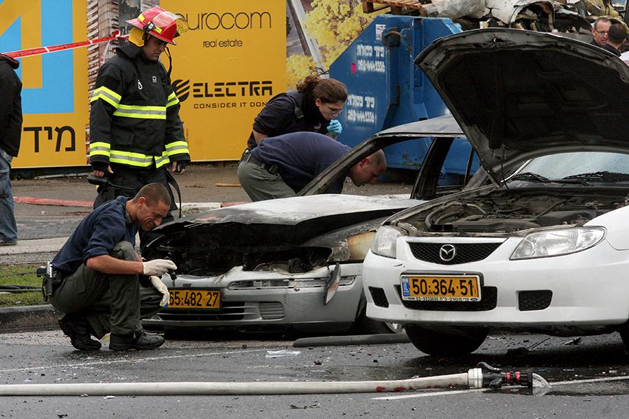 Взрыв в центре Тель-Авива: по предварительным данным, один человек погиб, десять пострадали
