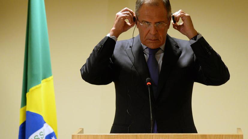 Сергей Лавров: Российские миротворцы на Голанах - залог безопасности, а не вопрос влияния в регионе