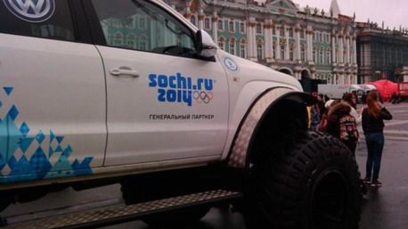 За препятствие движению «олимпийского» транспорта будут штрафовать