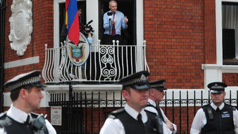 Джулиан Ассанж обошелся лондонской полиции в $4,5 млн