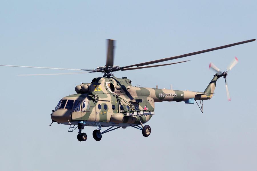Новые российские вертолёты совершили рекордный перелёт над морем