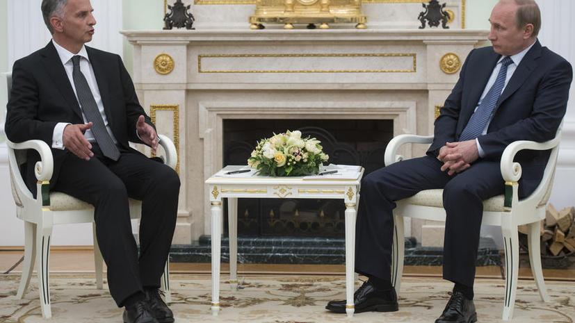 Владимир Путин: Россия просит сторонников федерализации перенести референдум с 11 мая на более поздний срок
