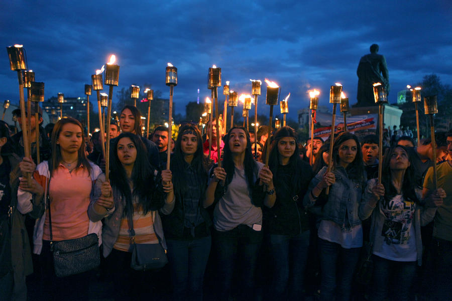 Ереван рассчитывает на признание Турцией геноцида армян в преддверии 100-летия трагедии