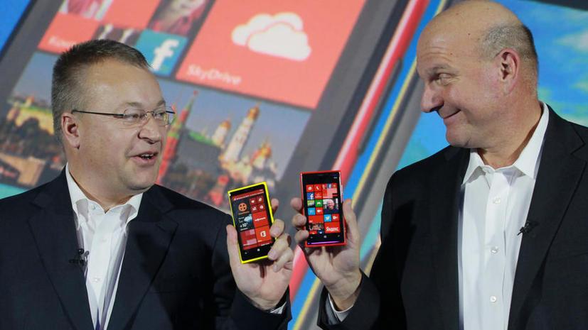 Акционеры Nokia одобрили сделку по продаже мобильного подразделения корпорации Microsoft