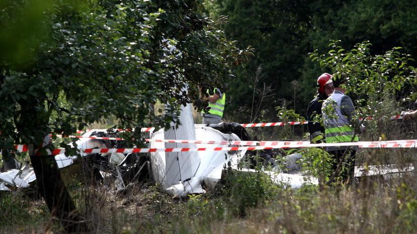 11 человек стали жертвами крушения спортивного самолёта в Польше
