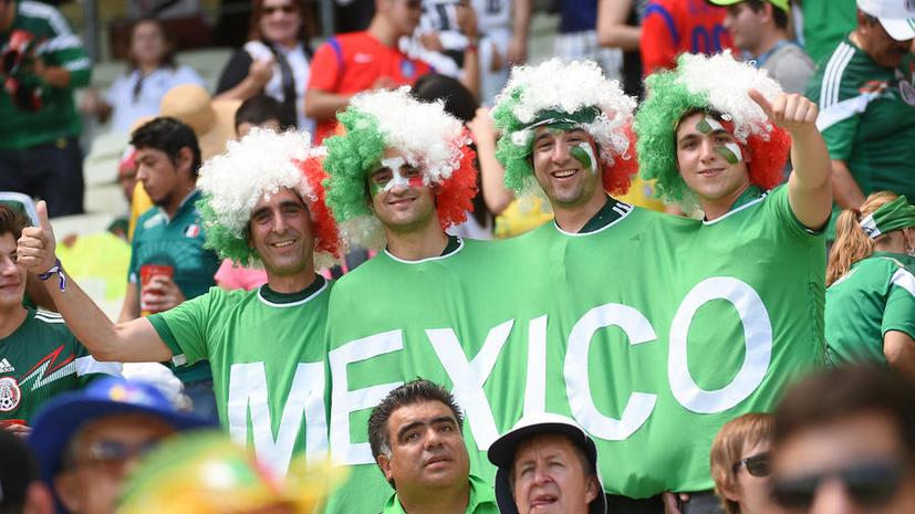 ЧМ-2014: у мексиканцев самые «громкие» голы в Facebook