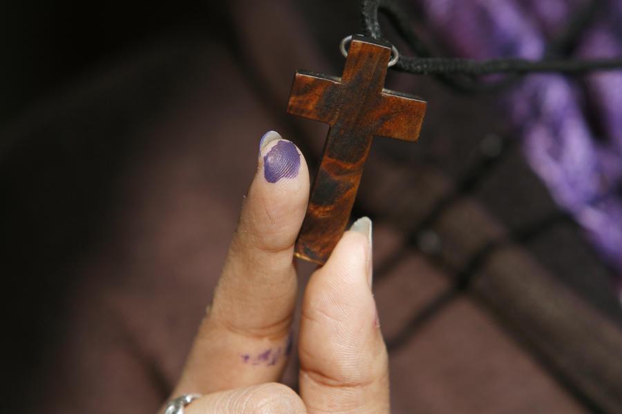 Американке запретили молиться около школы