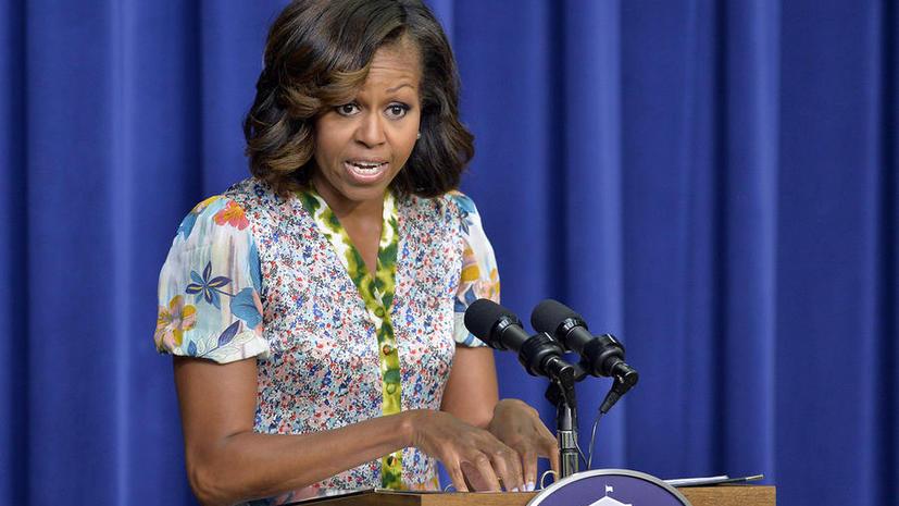 Мишель Обама выступает против военной операции в Сирии