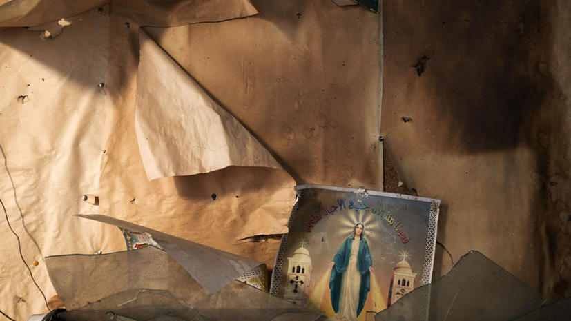 «Братья-мусульмане» сожгли древний христианский монастырь на юге Египта
