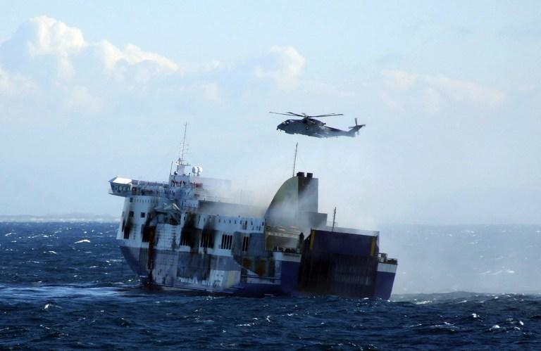 Точное число пассажиров, находившихся на пароме Norman Atlantic, до сих пор неизвестно