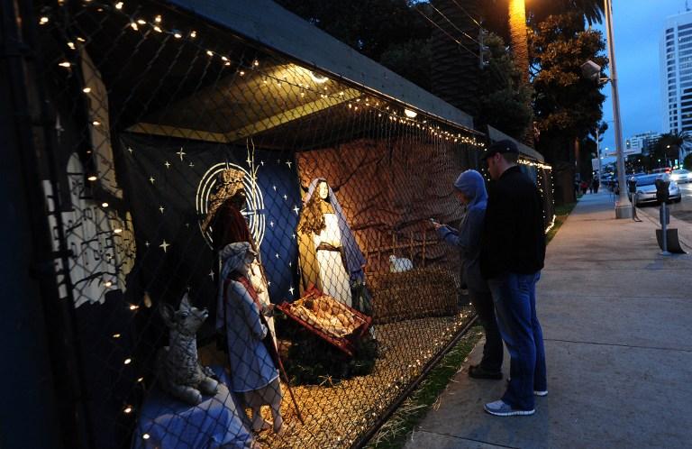 Атеисты хотят лишить жителей Калифорнии Рождества