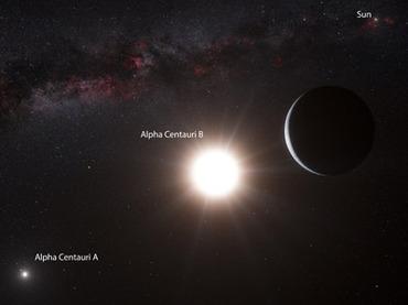 У Альфы Центавра найдена планета размером с Землю