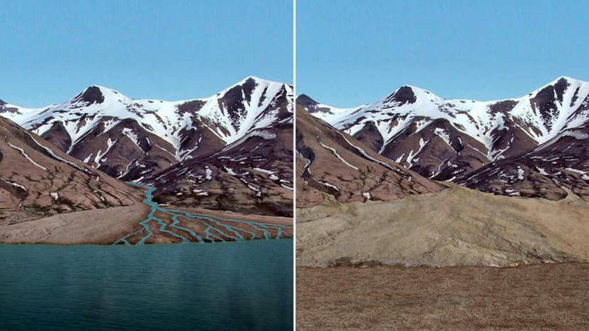 На поверхности Марса когда-то были озёра, а атмосфера была пригодной для жизни