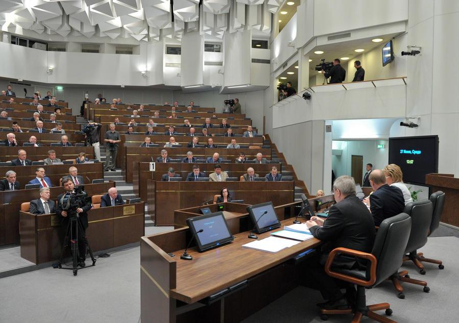 Совет Федерации одобрил законы о защите чувств верующих и запрете пропаганды гомосексуализма