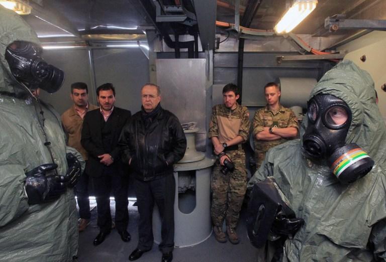 МИД РФ: Из Сирии уже вывезено около 20% химических веществ