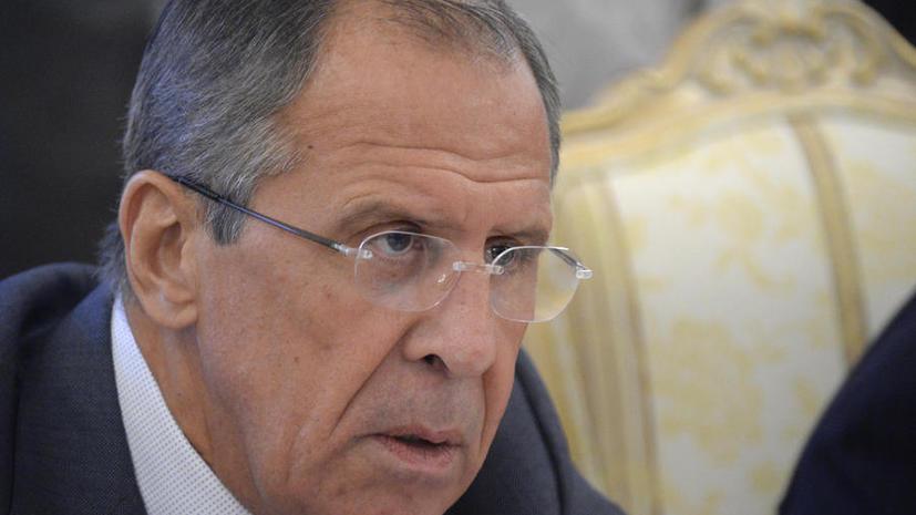 Сергей Лавров: Зарин, использованный под Дамаском, был произведён кустарным способом