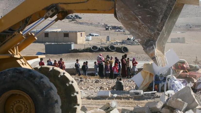 Израиль снесет деревни бедуинов