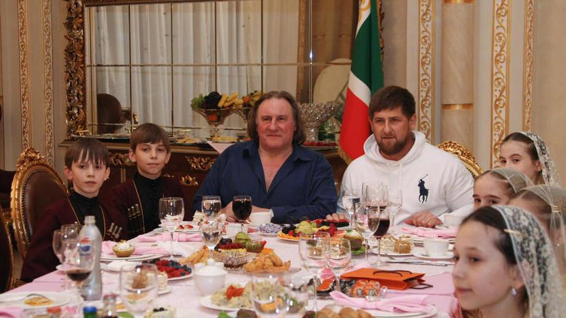 Жерар Депардье сыграет бывшего президента Чечни Ахмата Кадырова