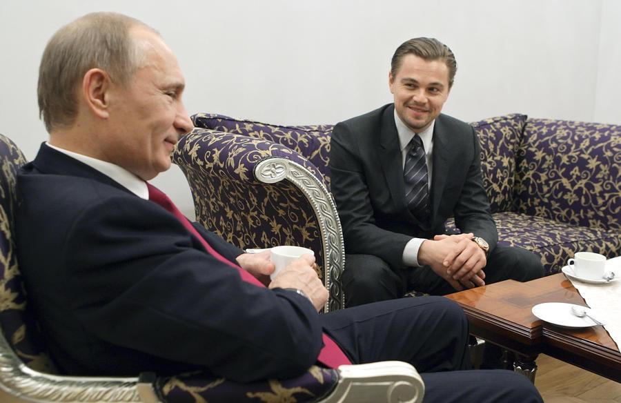 Леонардо Ди Каприо: Я бы с удовольствием сыграл Владимира Путина