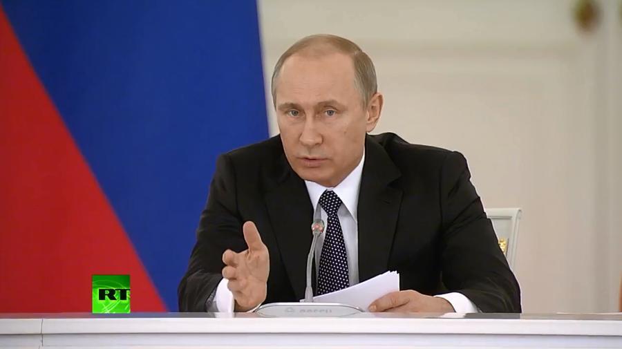 Владимир Путин: Предприниматель не должен жить в страхе