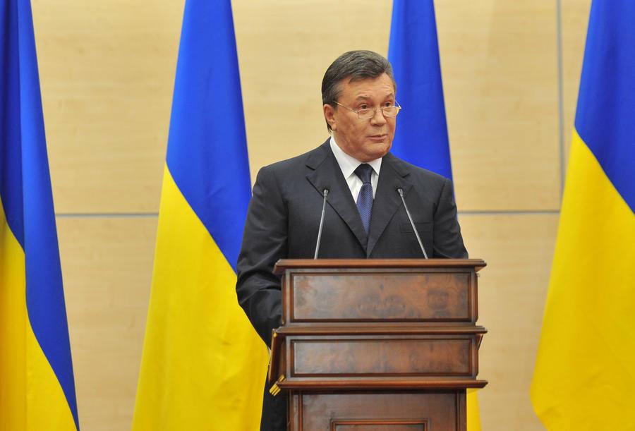 Виктор Янукович возложил ответственность за гибель украинцев на киевские власти
