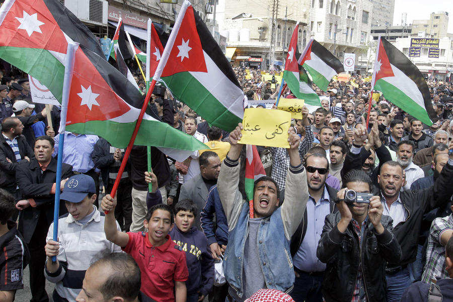 Иорданцы против размещения американского контингента у сирийских границ