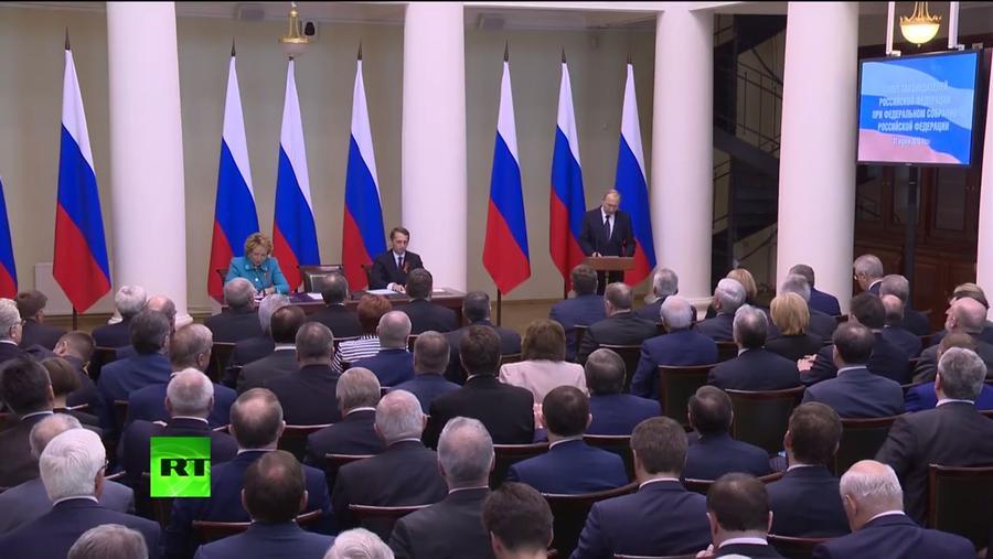 Владимир Путин: Попытки искажения истории становятся всё агрессивнее