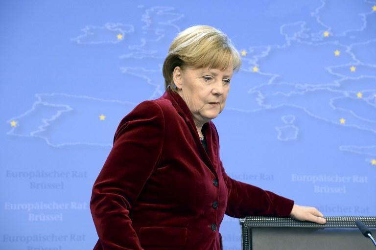 Ангела Меркель выступит в бундестаге с правительственным заявлением по Украине