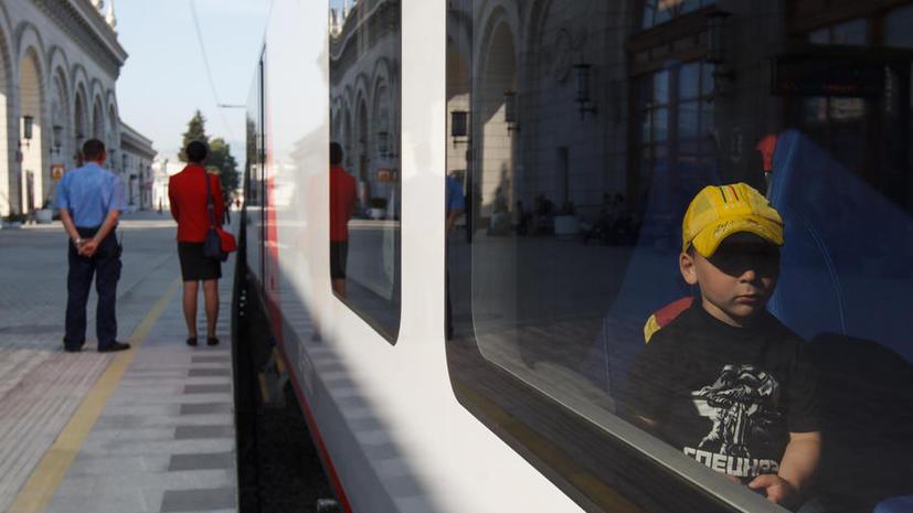 С поезда из Сочи сняли детей с подозрением на менингит