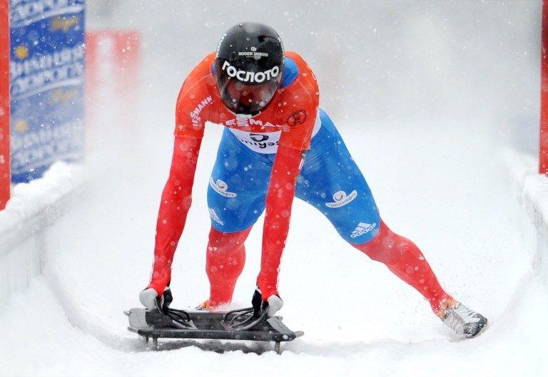 Александр Третьяков одержал победу на чемпионате мира по скелетону