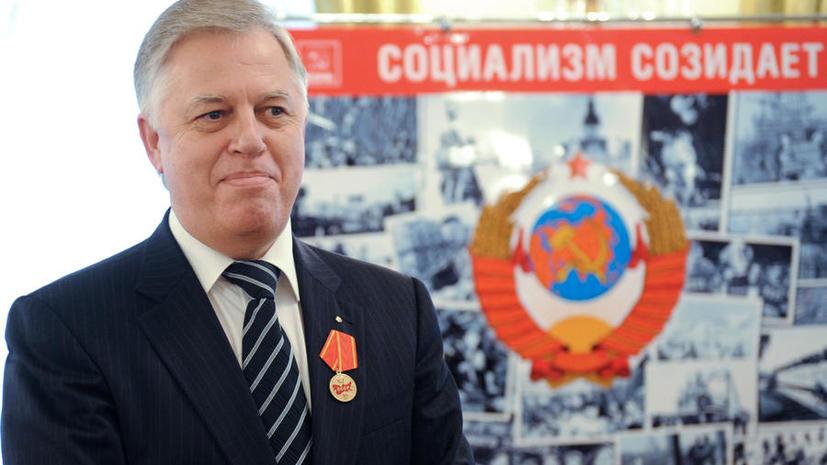 Пётр Симоненко отказался от участия в выборах президента Украины