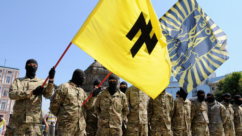 СМИ: Запад старается не замечать, что в силовой операции Киев использует националистов