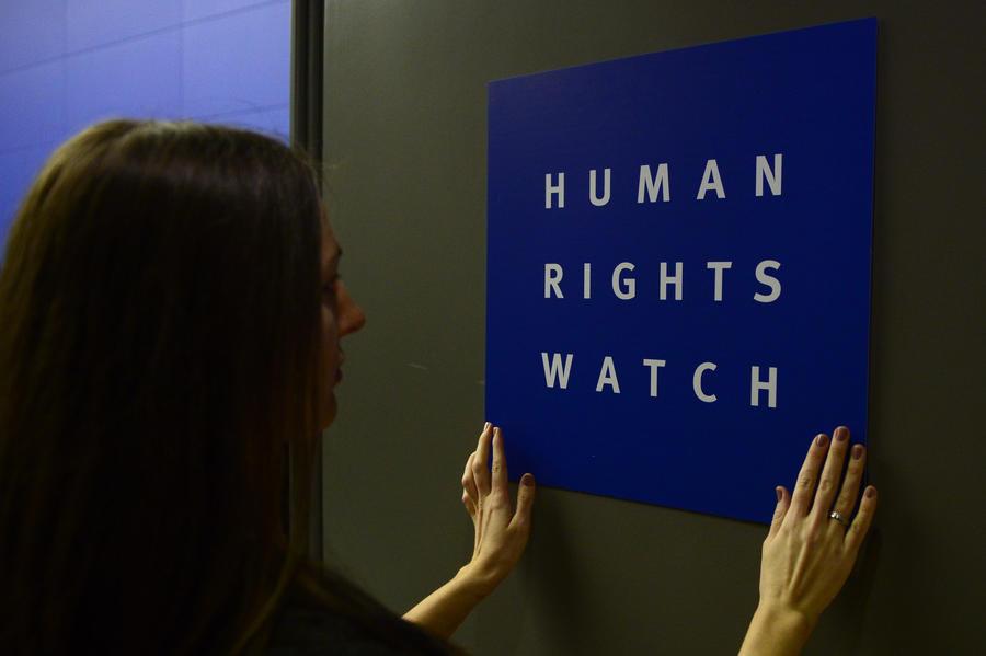 Human Rights Watch обвинила украинских силовиков в применении тяжёлого оружия против мирных горожан