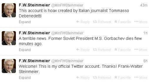 Итальянец взорвал Twitter сообщением о смерти Михаила Горбачёва