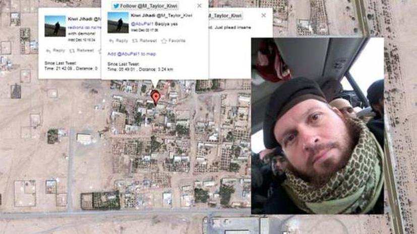 Террорист ИГ выдал местоположение боевиков через Twitter