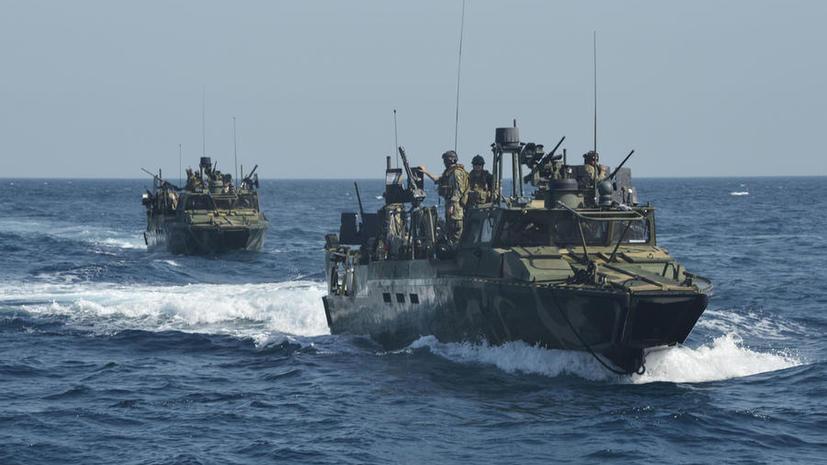 Тегеран потребовал извинений от Вашингтона за вторжение в территориальные воды кораблей США