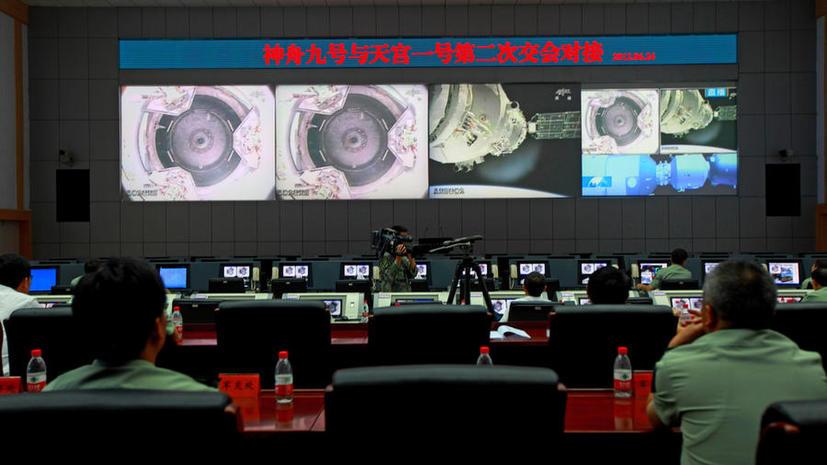 Китайский пилотируемый космический корабль приготовился к старту