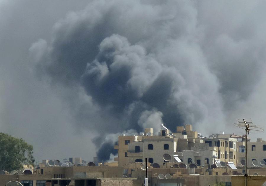 США нанесли авиаудары по позициям ИГ на территории Сирии