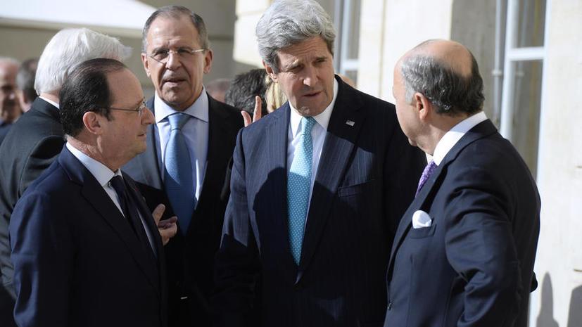 Джон Керри надеется сегодня продолжить обсуждение украинского кризиса с Сергеем Лавровым