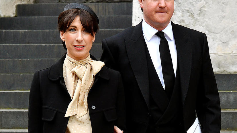Позицию Кэмерона по Сирии сформировала его супруга