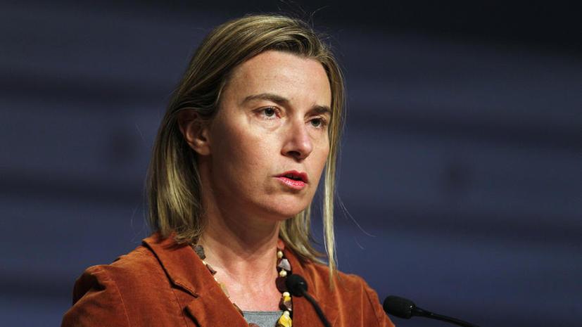 Федерика Могерини: ЕС не желает вооружать Украину