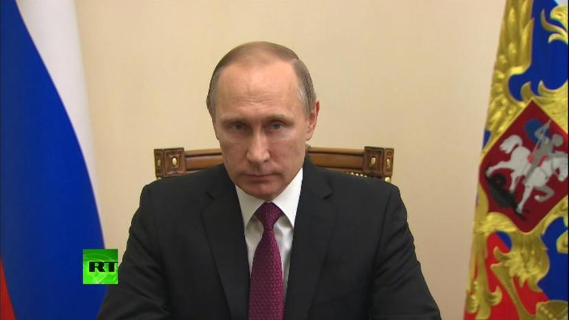 Владимир Путин сделал специальное заявление по прекращению боевых действий в Сирии