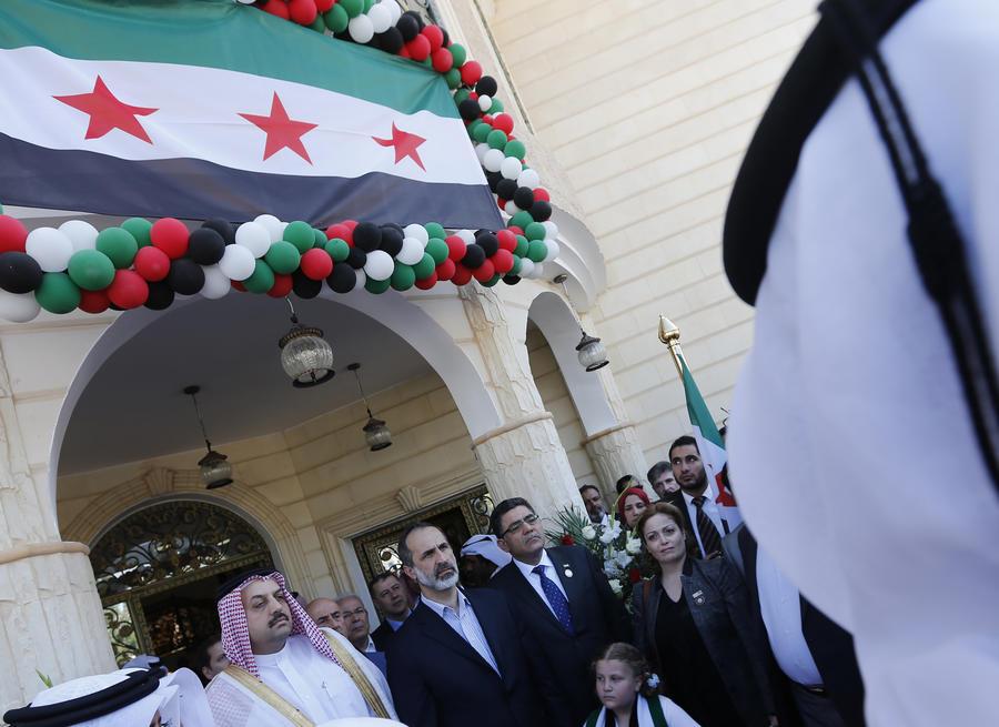 Сирийская оппозиция открыла свое первое посольство