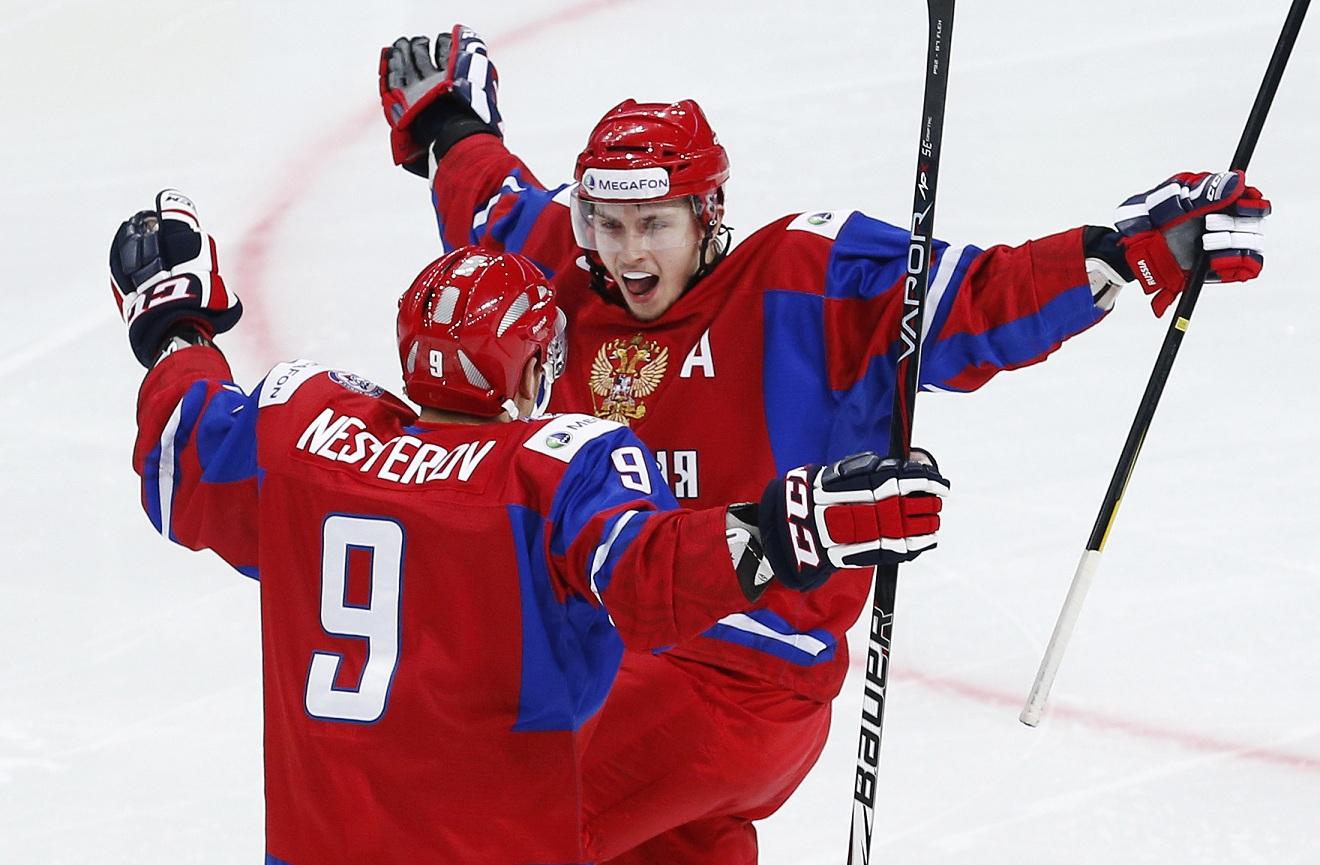 Молодежная сборная России по хоккею продолжила свою победную поступь в Уфе