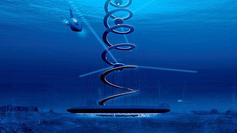 Японцы раскрыли план строительства подводного города
