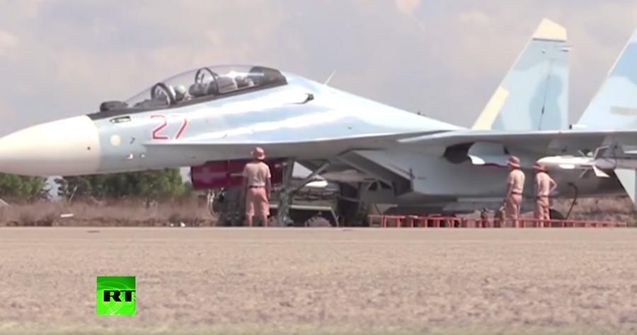 Операция РФ в Сирии: самые впечатляющие видео за месяц