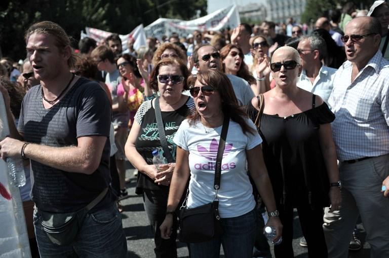 В Греции пошли митинги против неонацистов