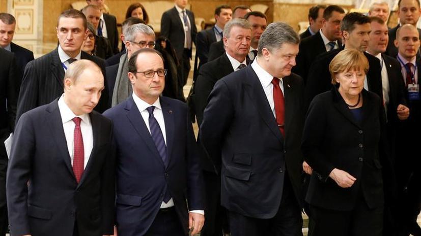 Участники расширенного состава «нормандской четвёрки» провели переговоры в Минске