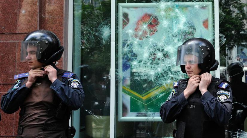 МВД Украины возбудило уголовное дело по факту нападения на офис телеканала «Интер»